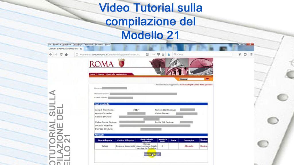 Guida Alla Compilazione Del Modello 21