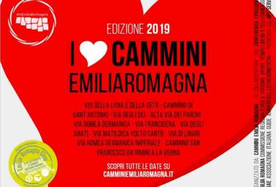 I Love Cammini - Emilia Romagna