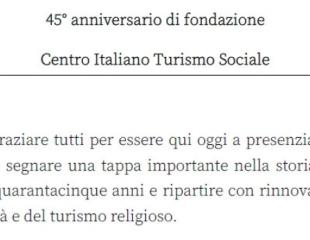 Il saluto del Vice Presidente Vicario Luca Baiosto
